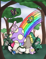 Shiny pokemon grotto by Silver-she-wolf-14