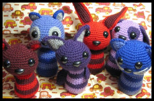 jelli critters by andricongirl