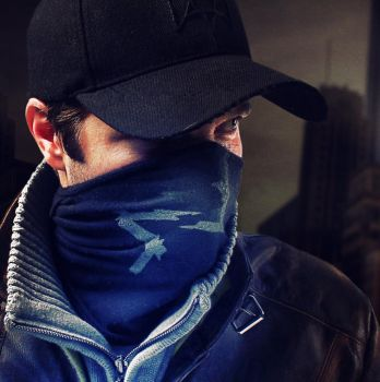 Aiden Pearce Headshot - Watch Dogs by infectiousdesigner