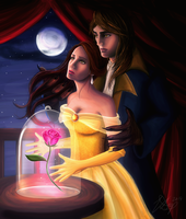 Beauty and the Beast II by VD-Art