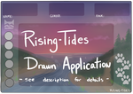 Rising Tides Drawn Application by puppiccino