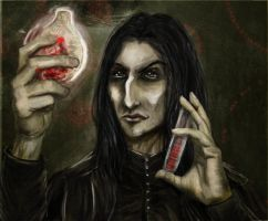 Obsession Series. Snape. by sassynails