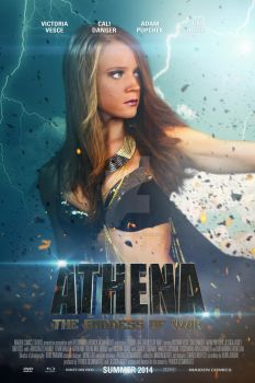 Athena The Goddess of War - Character Poster 5 by NewRandombell