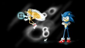 Sonic and Tails Desktop for U by Beccawolf16