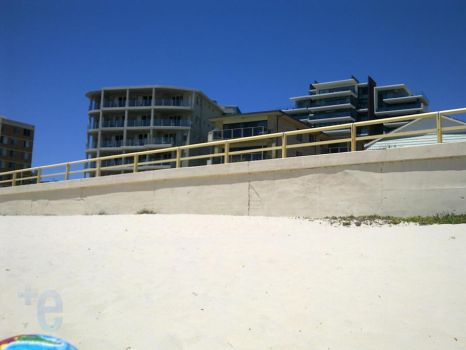 Beaches and Buildings by extramaster