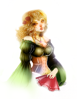 Naomi Hayward - Commission by clover-teapot
