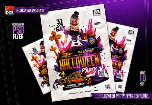 Halloween Flyers On Flyerdesigns - Deviantart