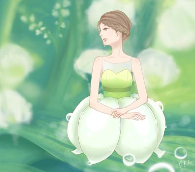 Lily of the Valley by te-belle