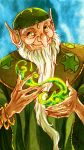 The Green Wizard by MistyTang