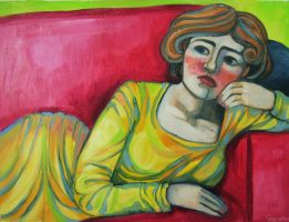 Reserved woman by PinjaLappi