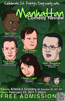 Manhattan Comedy Review 5 by theangrybuddha