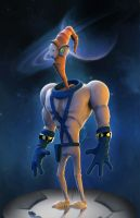 Earthworm Jim by Efraimrdz