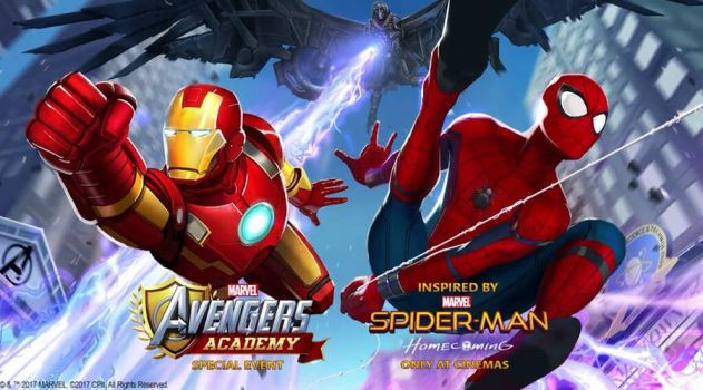 Marvel Avengers Academy - Spider-Man Homecoming  by LaxXter