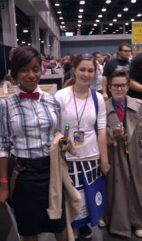 The Doctor's and The Tardis by AsylumBeauty