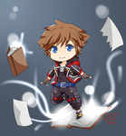 Kingdom Hearts 3 - Sora by akai-kuma