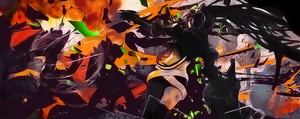 Black Rock Shooter (bigger/different colors) by Revy-chibi