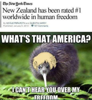 New Zealand and FREEDOM!!!! by Aramati
