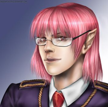 OC portrait commission by ShadowxSiegfried