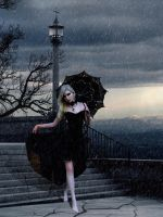 In The Black Rain by MellWerr
