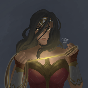 Wonder Woman by pencilHead7