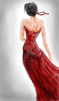 Red Dress by EloiseS16