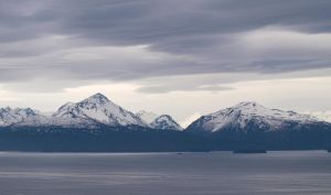Homer Mountains Spring by Eltear-Stock