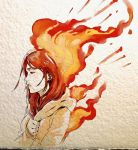 .: Up in Flames by 365-DaysOfDoodles