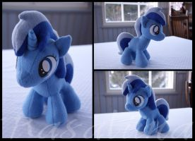 MLP: FiM - Filly Colgate/Minuette plushie by Rasaliina