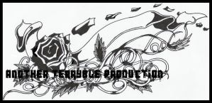 Rose design for Car Decal. by terryrism