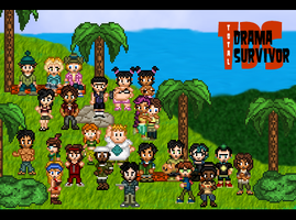 Total Drama Survivor by pgcool