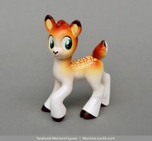 Fawn Sculpture by MerionMinor