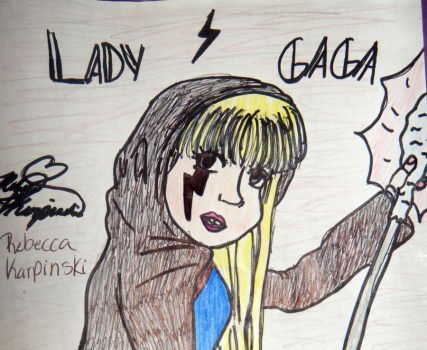Lady Gaga The Fame by SailorMoon190