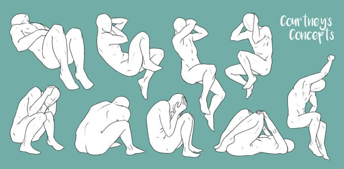 Resting Variation Poses by CourtneysConcepts