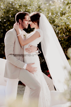 Outlaw Queen Wedding by skylarmist