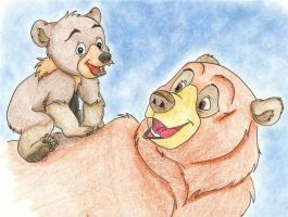 brother bear koda and kenai by ChibiThekla