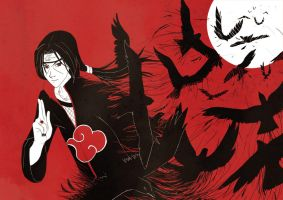 Itachi by shases