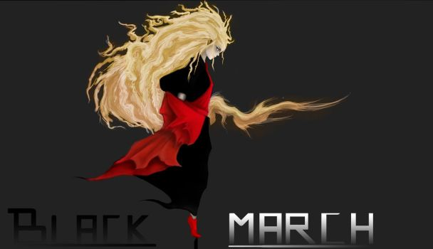 Black March - Tower of god by StefanHobbyDrawer