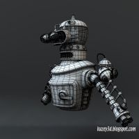 Steampunk Bender wip7 by Kuzey3d