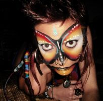 Tribal make up by Palmoxicilina