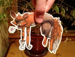 Foxy Paper Child 2 by Artsy-Ailurophile