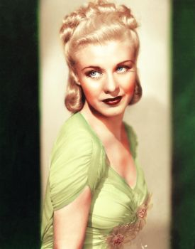 Ginger Rogers - colorization by Tricia-92