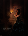 Une nuit eclairee by Mahora-Art