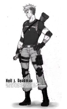 L4D OC - Neil Full by Sayael