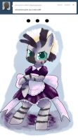 Zecora maid by SuperRobotRainbowPig