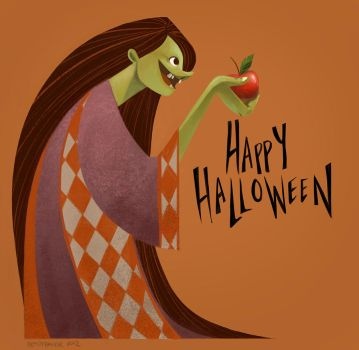 Witchy Halloween by betsybauer