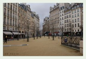 Place Dauphine by DionysosBacchus