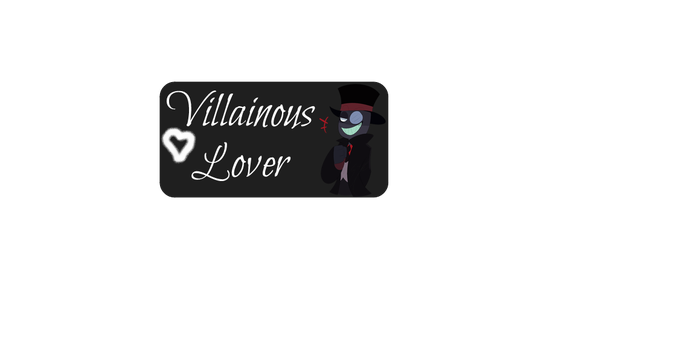 Villianious Lover Stamp by SwallowedANickle