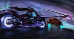 Cyber Joust by theartofTK