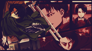 Rivaille Signature - 4 by DeathB00K