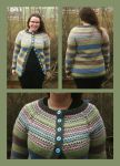 Retro cardigan - stash buster by KnitLizzy